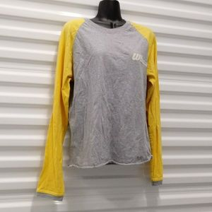 Zara Jeans Reglan Sleeve Womens Top Shirt Large